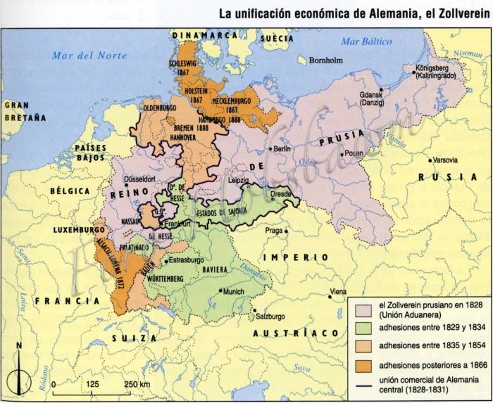 hmc-mapa-hco-unificacion-de-alemania-el-zollverein